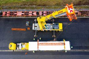 Pistor-Kühlcontainer Ackermann Spezialtransport Welti-Furrer - news 02.2019