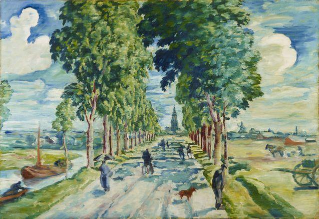 August Deusser_Allee bei Xanten_1912