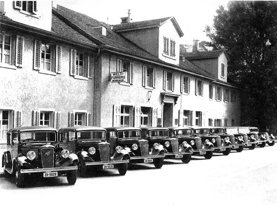Taxi-Funk Bärengasse_1950